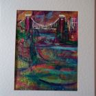 Avon Gorge and suspension Bridge<br />A5 appx portrait<br />&pound;10