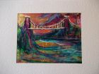 Avon gorge and Suspension Bridge<br />A5 appx horizontal<br />&pound;10