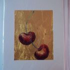 Cherry  duo<br />A5 portrait<br />£10 SOLD