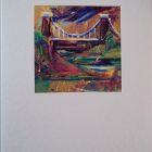 Suspension Bridge<br />A6 appx portrait<br />&pound;5