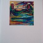 Suspension Bridge<br />A6 app portrait<br />&pound;5