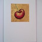single cherry<br />A6 appx portrait<br />&pound;5