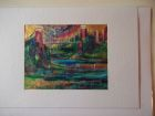 Avon Gorge and Suspension Bridge<br />A5 appx landscape<br />£10 SOLD