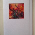 Poppy detail<br />A6 appx portrait SOLD<br />&pound;5