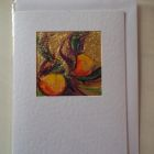 Passion fruit<br />A5 card, painting is acrylic and dutch gold<br />&pound;10