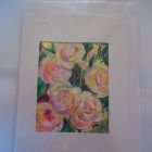 Large white climbing rose