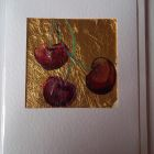 Trio of cherries